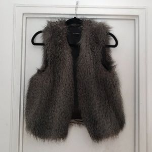 Club Monaco Faux Fur Vest (Vegan)